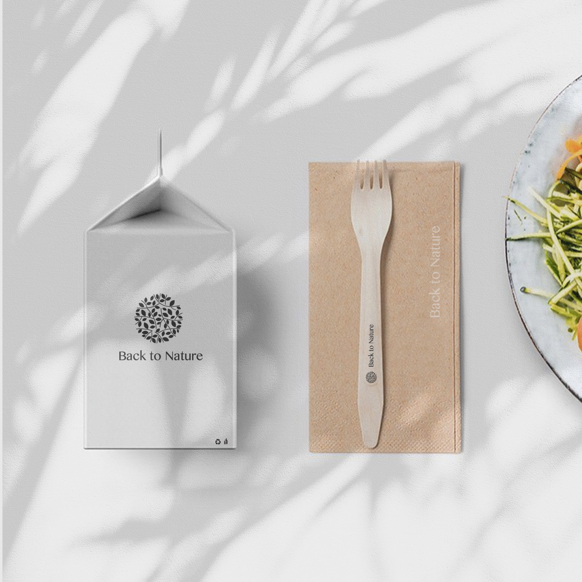 Brand experience design for back to nature