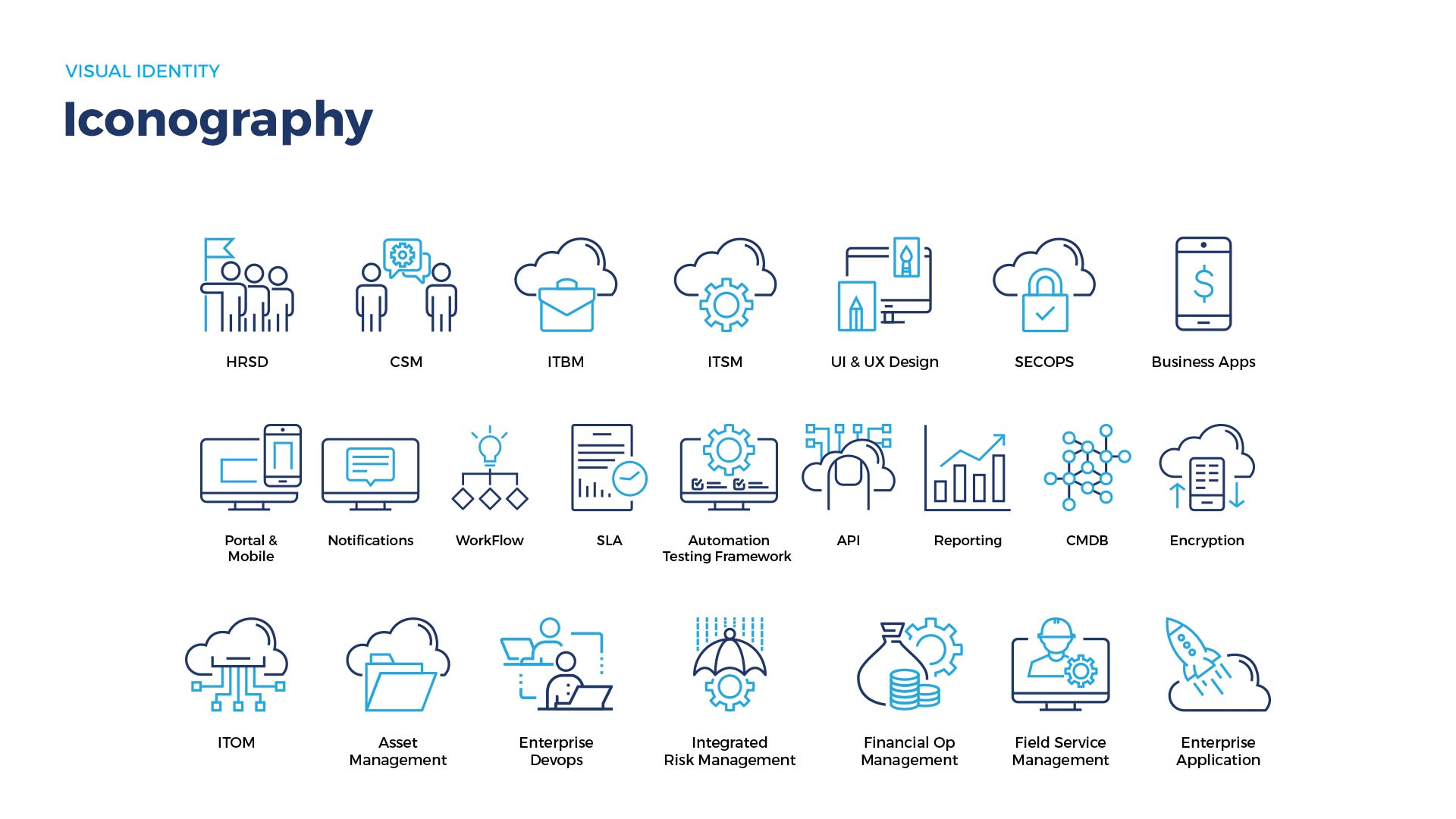 Cloud Go Brand Icons