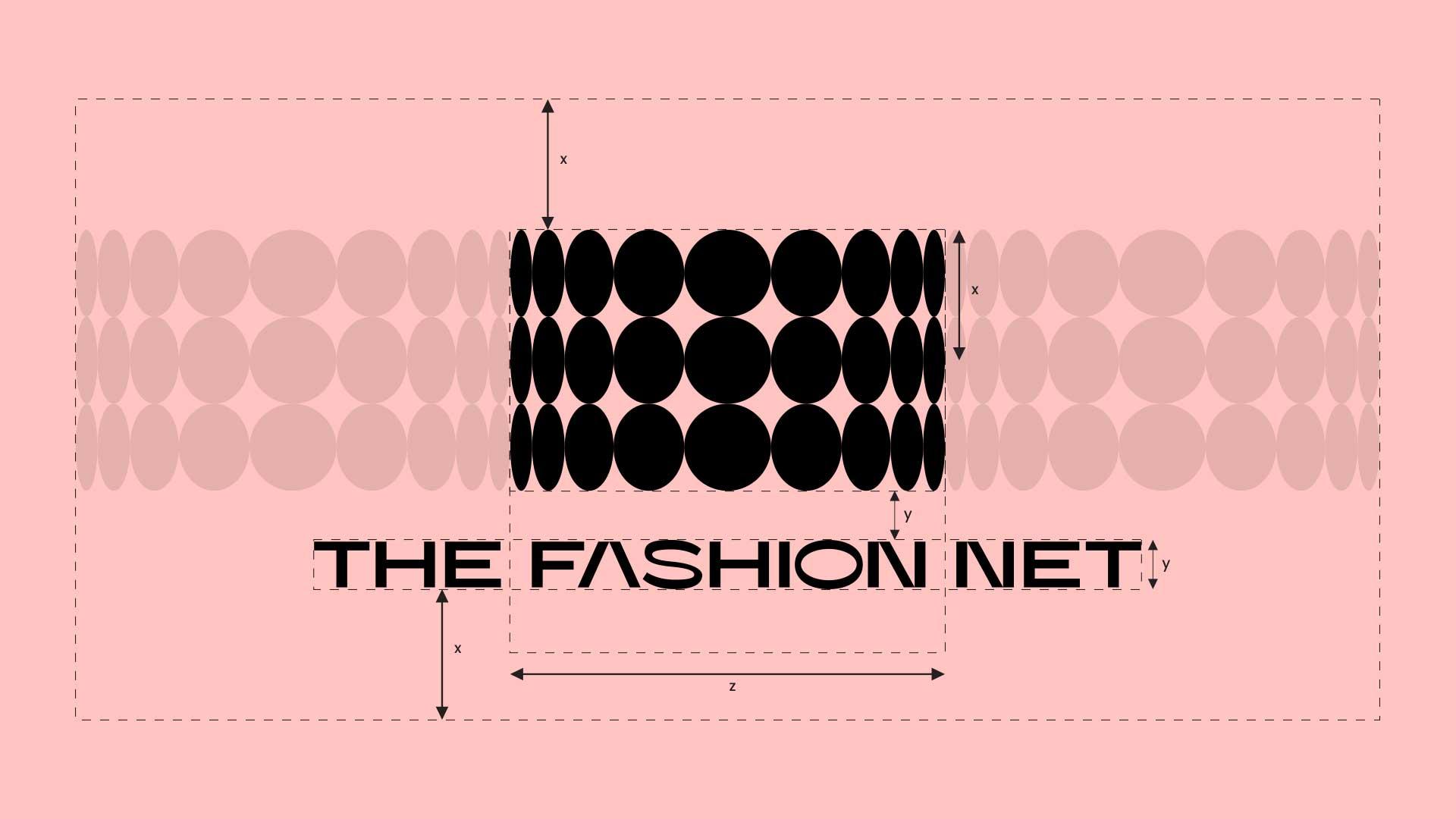 The Fashion Net Logo spacing